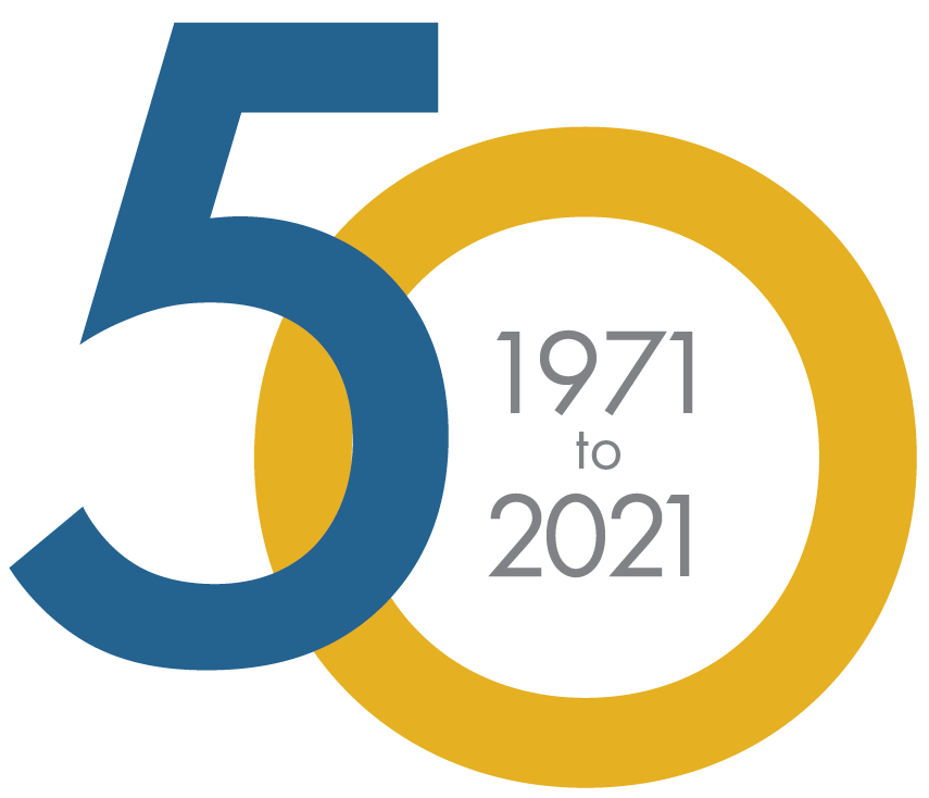 Logo: 50th Anniversary