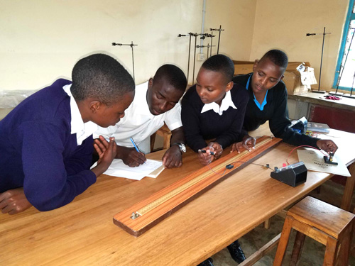 photo: Tanzania students studying